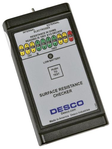DESCO JAPAN 表面抵抗チェッカー No.19640 L00020