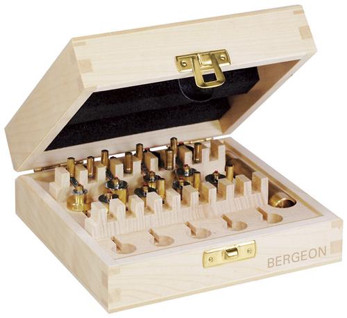 BERGEON ベルジョン 全舞巻き器ETA対応12種セット 2795-ETA F22795E