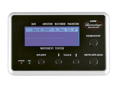 デイリーランキング2位 エスプリマ(Esprima) LUHW 機械式用歩度測定機 「Dr.Watch」 LU11000BK F11000BK