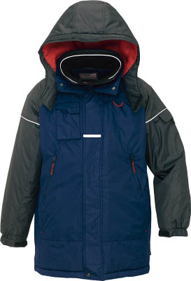 アイトス 防寒コート ネイビーL AZ-6060-008-L