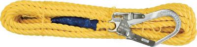 ツヨロン 昇降移動用親綱ロープ 30メートル L-30-TP-BX 藤井電工(株)
