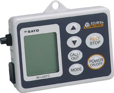 リアルタイムランキング1位 佐藤 データロガー(温度) SK-L200T2