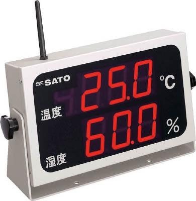 佐藤 コードレス温湿度表示器(8102-00) SK-M350R-TRH