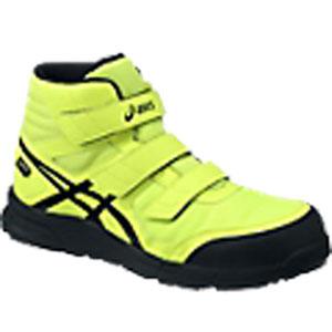 リアルタイムランキング2位 アシックス(ASICS)  安全靴(作業用靴)ウインジョブ FCP601.0790 フラッシュイエローXブラック
