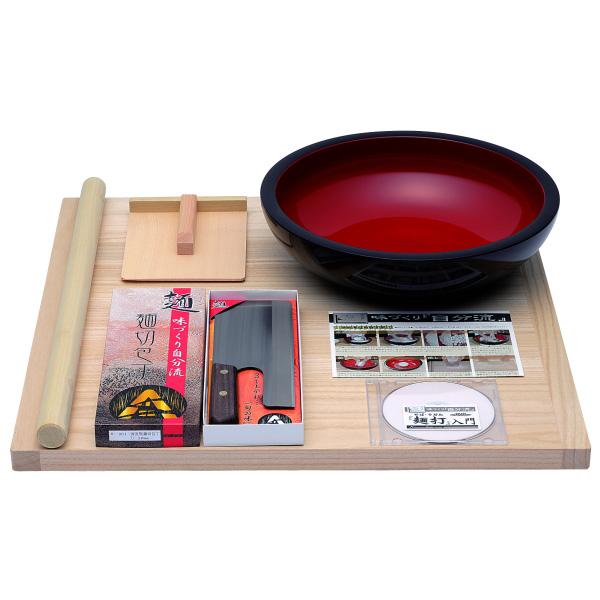 豊稔企販 普及型麺打セット DVD付 A-1200
