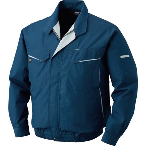 電池ボックスセット 綿・ポリ混紡ワーク 0470-G20-C03 ネイビー ワンタッチファングレー 空調服