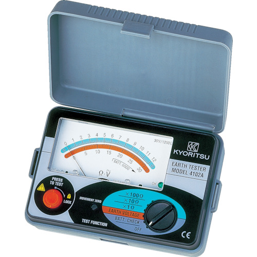 KYORITSU 4102A アナログ接地抵抗計(ソフトケース)MODEL4102A 共立電気計器
