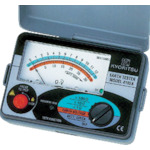 KYORITSU 4102A-H アナログ接地抵抗計(ハードケース) MODEL4102A-H 共立電気計器