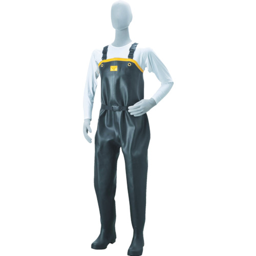 SHIBATA 胴付水中長靴 ND010 26.0CM シバタ工業(株) ND010-26.0