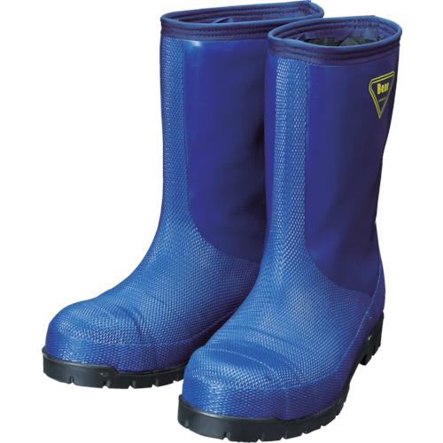 SHIBATA 冷蔵庫用長靴-40℃ NR021 23.0 ネイビー シバタ工業(株) NR021-23.0