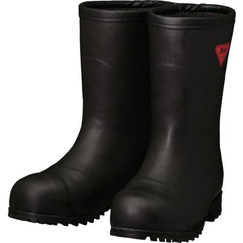 SHIBATA 防寒安全長靴セーフティベアー#1011白熊(ブラック)フード無し シバタ工業(株) AC121-22.0