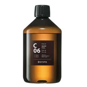 アットアロマ エッセンシャルオイル C06 ウォームフィール 450ML クリーンエアー