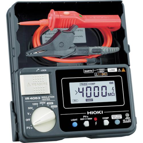 HIOKI 太陽光発電システム用絶縁抵抗計 IR4053-11 日置電機
