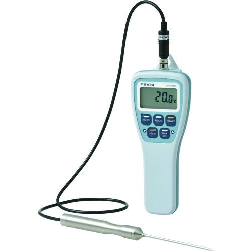 佐藤 防水型食品用温度計SKー270WP(標準センサ付)(8078-00)