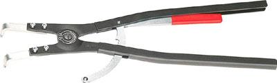 ☆KNIPEX/クニペックス 4620-A61 軸用スナップリングプライヤー 曲  輸入 工具