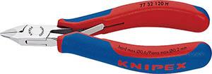 ☆KNIPEX/クニペックス 7732-120H 超硬刃エレクトロニクスニッパー   輸入 工具