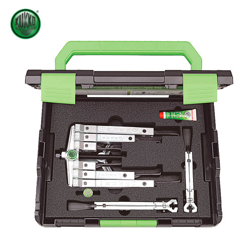 高級感 ☆KUKKO/クッコ K-2030-10-S-T 2アーム&3アーム超薄爪マルチプーラーセット 薄爪幅狭タイプ  輸入工具:工具ショップ-DIY・工具
