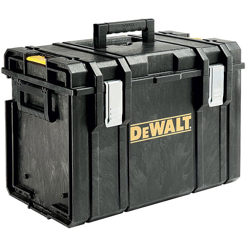 耐久性と使いやすさを追求したデウォルトの新システムツールボックス 法人向け送料無料 代引き不可 ☆DEWALT デウォルト 超歓迎された DS400 TOUGH ストレージ 1-70-323 物品 SYSTEM