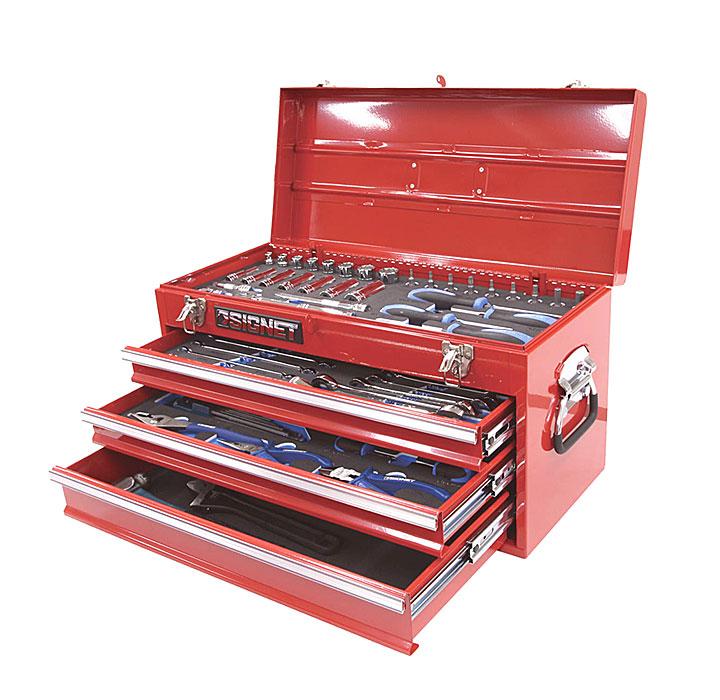 """国内最安値! ☆SIGNET/シグネット 800S-59RE メカニックツールセット 3/8""""DR 59PCS レッド スタンダード 工具セット:工具ショップ-DIY・工具"""