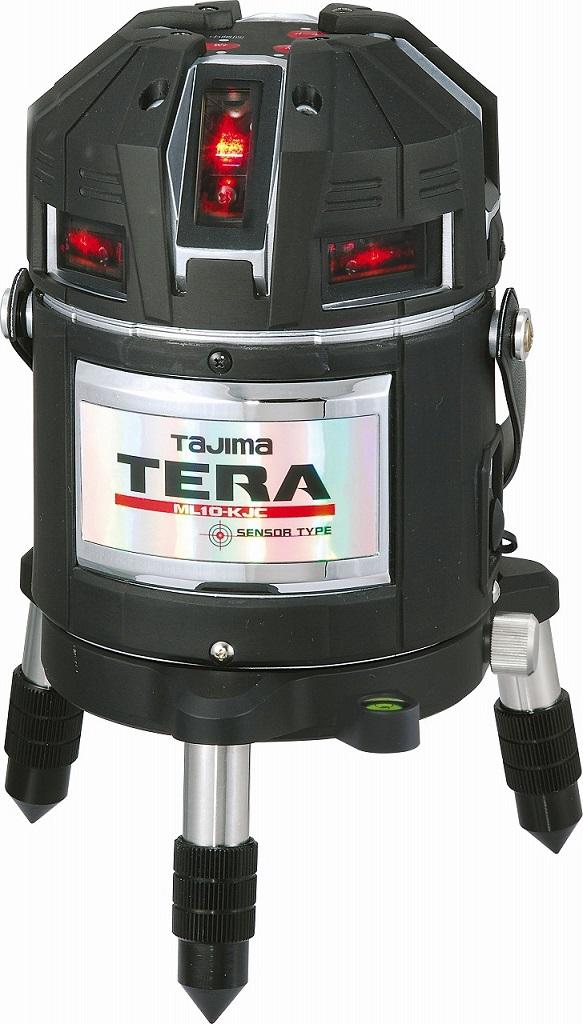タジマのTERA高輝度 矩・横レーザー ☆TAJIMA/タジマ レーザー墨出し器 TERA テラ センサー ML10-KJC本体