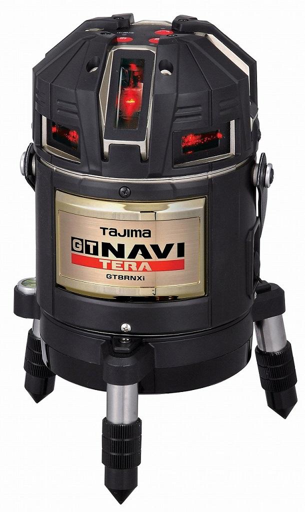 ☆TAJIMA/タジマ 高輝度レーザー墨出し器 NAVI ナビ TERA テラ GT8R-NXi 本体(受光器付属)