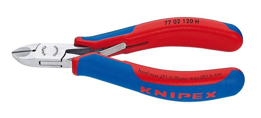 ☆クニペックス 超硬刃付きエレクトリックニッパー 7702-120H  輸入 工具