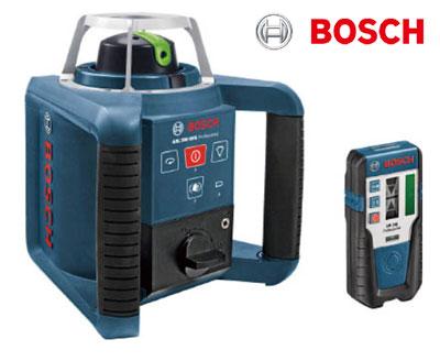 ☆【送料無料】ボッシュ/BOSCH GRL300HVG ローテティングレーザー (リモコン、受光器、キャリングケース付) 墨出し作業 レベル調整