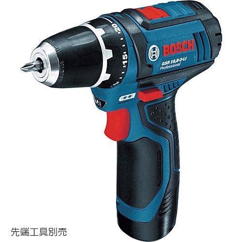 ☆ボッシュ/BOSCH GSR10.8-2-LIN コードレスドライバードリル (バッテリー・充電器・ケース付)