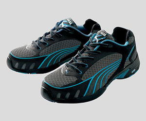 ☆プーマ/PUMA 安全靴 ヒューズ・モーション・ブルー・ウイメンズ・ロウ (22.5cm~24.5cm)NO.64.232.0 女性用ローカット作業靴