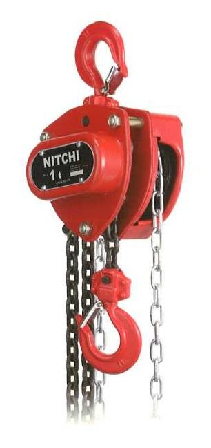 ☆ニッチ チェーンブロック HN1シリーズ 0.5t HN10050