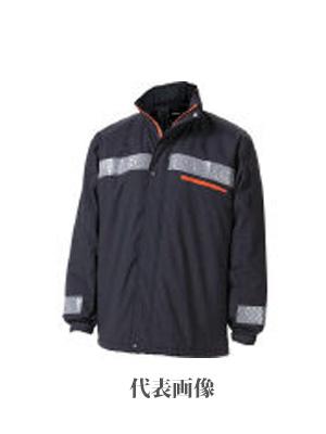 ☆TRUSCO/トラスコ中山 暖かブルゾン Mサイズ ブラック TATBB-M-BK   コード(4878019) 防寒アウター