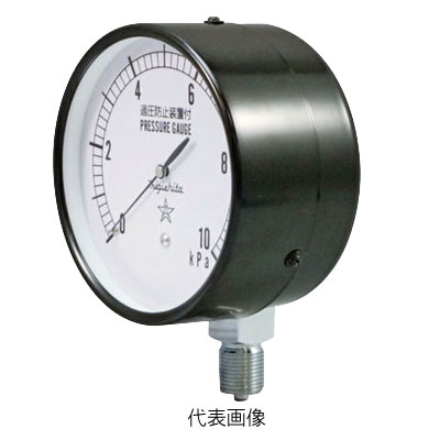 ☆右下 スターゲージ 微圧計 CA211-111 AT1/4×60×5kPa 圧力レンジ 0~5(kPa)