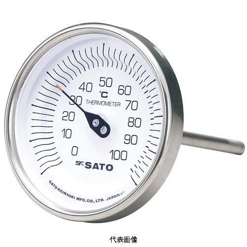 【送料無料】☆佐藤/SATO バイメタル温度計 BM-T-90S (0~150℃, L=50mm, R(PT) 1/2) (2010-50)