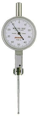 ☆尾崎製作所/PEACOCK PCN-1L てこ式ダイヤルゲージ PCN (ノークラッチタイプ PCNシリーズ)  縦形 目量:0.01mm 測定範囲:1.0mm ニューピクテスト ピーコック