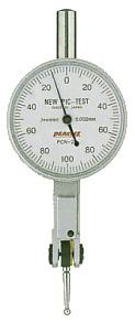 ☆尾崎製作所/PEACOCK PCN-2B てこ式ダイヤルゲージ PCN (ノークラッチタイプ PCNシリーズ) 縦形 目量:0.002mm 測定範囲:0.2mm ニューピクテスト ピーコック