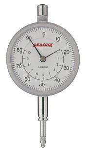☆尾崎製作所/PEACOCK 107W 標準型ダイヤルゲージ ピーコック 目量:0.01mm 測定範囲:10mm 中2針型