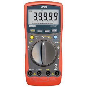 【送料無料】☆エー・アンド・デイ(A&D) AD-5517 デジタルマルチメーター 電子計測機器