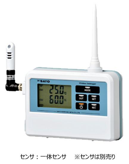 ☆佐藤計量器製作所(SATO) SK-L700R-TH 無線温湿度ロガー子機 (指示計のみ) 温湿度タイプ (8223-00)