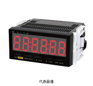 ☆日本電産シンポ DT-501XA デジタル回転速度計 パネル型 (基本入力) AC85V ~264V