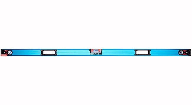 【代引き不可】☆シンワ 73337 ブルーレベル Pro 2  1800mm マグネット無 水平器 45°気泡管付