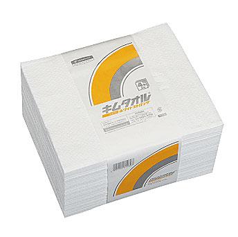 【代引き不可】☆クレシア キムタオル 61080 ホワイト 4つ折り ストロング 紙ワイパー 50枚×24束  コード(4460847)