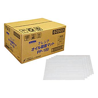 【代引き不可】☆クレシア 60900 オイル吸着マット PP-100 100枚入  コード(4233778)