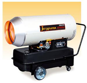 ☆【法人向け送料無料】【代引き不可】ORION/オリオン 可搬式温風機ジェットヒーター HPS830A 単相100V 熱出力97.2kW