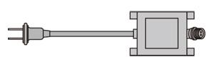 ☆ジェフコム AC-ACアダプタ(SJシリーズ)定格容量60VA PAD-60VA-A