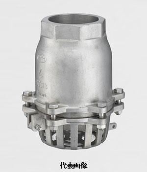 ☆【送料無料】スリーエム工業 捻じ込み式フートバルブレバー付 型式:SF-13 65A (21/2) SCS13 標準品