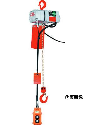 ☆象印 ベータ型小型電気チェンブロック BS-K2060 定格荷重200KG 揚程6M βS-020-6M コード(3419215)