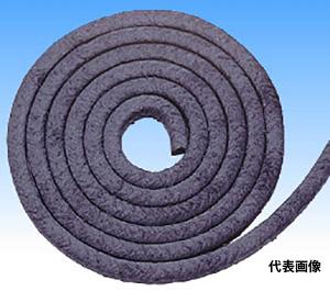 ☆PILLAR/日本ピラー工業 汎用ポンプ用グランドパッキン ピラーNo.6501L 12.5mm 炭素繊維 ノンアスベストパッキン