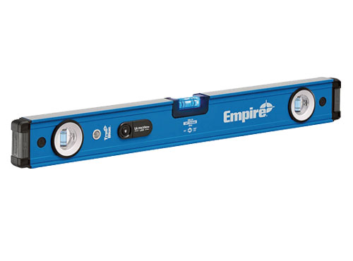 ☆EMPIRE(エンパイア) EM95.24 ウルトラビュー LED付マグネットレベル 全長600mm 水平器 輸入 工具