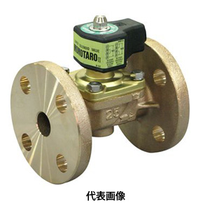 ☆VENN/ベン WF22-F 桃太郎2 青銅電磁弁 呼び径 11/4B(32A) (ネジ込・通電開・ダイヤフラム式)