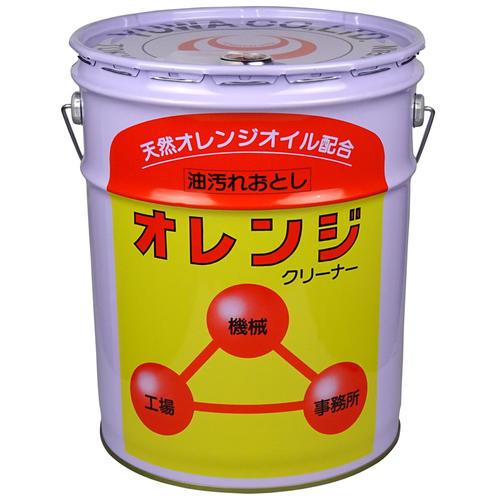 ☆友和 オレンジクリーナー(エフワン) 18L オレンジ洗浄剤 ペール缶